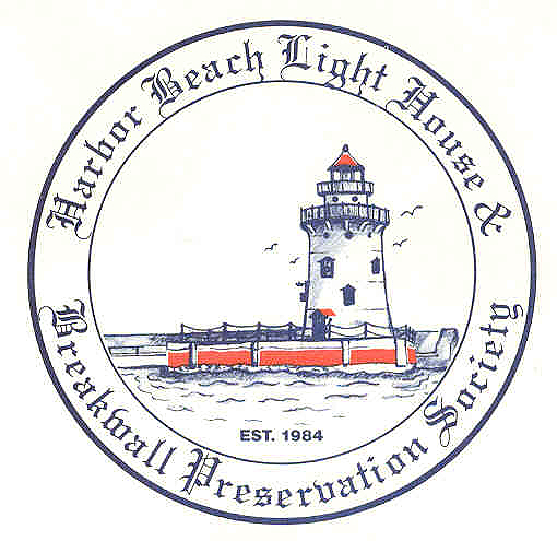 Harbor Beach Lighthouse Preservation Society Logo