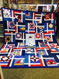 This quilt will be raffled off during the birthday celebration