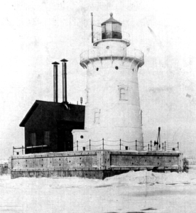 Early 1900 version of fog signal building