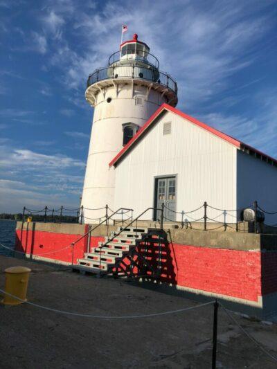 Harbor Beach Lighthouse and Fog Signal Building